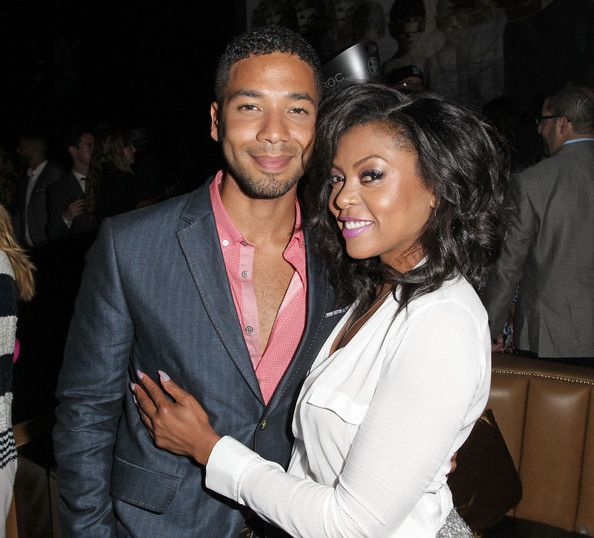 Taraji P. Henson Photos - Actor Jussie Smollett (L) and Taraji P. Henson attend the after party  Of Screen Gems' 'Think Like A Man Too' at 1 OAK  on June 9, 2014 in Hollywood, California. - 'Think Like a Man Too' Afterparty