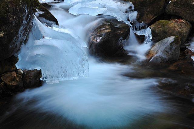 去り行く冬 #fujifilm#xt1#xt2#nikon#canon#Japan#Photo#写真#日本#nature#風景#自然#星#星空#画像館#fotopark#画像館#フォトクラブ#氷#渓流#k川