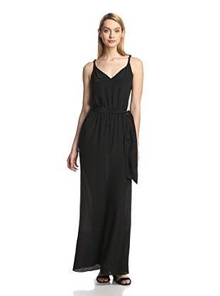63% OFF Jay Godfrey Women's Waxman Maxi Dress (Black/Black)