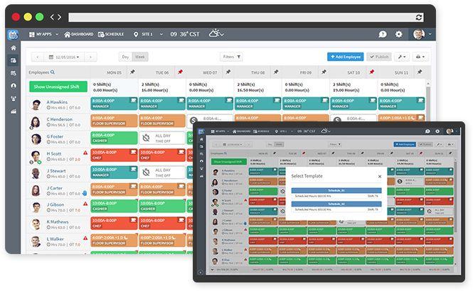 online work schedule maker