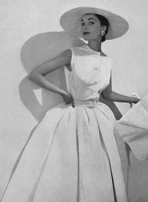 Hubert de Givenchy dress 1953