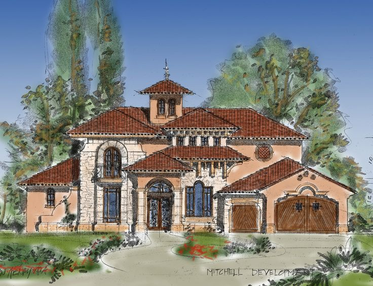 Tuscan Style Homes Luxury Home Plans Luxury Homes For