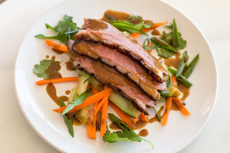 Crispy Duck Breast  52.7 2h  Getting the duck breast correctly cooked throughout while crisping the skin to a crisp golden brown can be challenging. Of course, sous vide makes it virtually foolproof. The result: perfectly cooked duck breast with crunchy skin and deep flavor