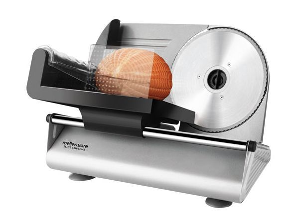 Mellerware Slice Supreme Meat Slicer - The Mellerware range is packed full of high quality appliances created to make life in the kitchen that little bit easier. With neat designs, intuitive operation and a durable build, this extensive collection includes something to suit every need, allowing you to relax and enjoy your time in the heart of the home.