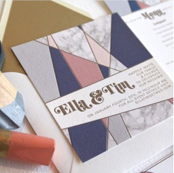 how to make invitation letter for vispurpose%0A Love this unique and modern Wedding Invite from how memorable