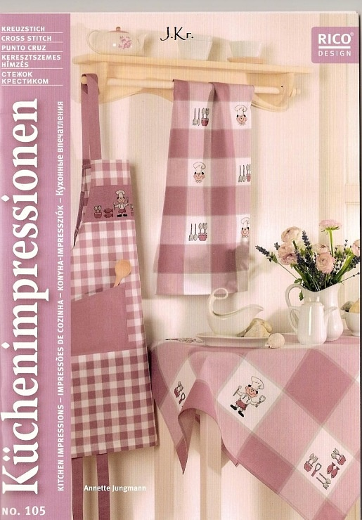Fabric and Sewing - Many small and sweet projects, mainly gingham, patchwork, embroidery and general sewing.