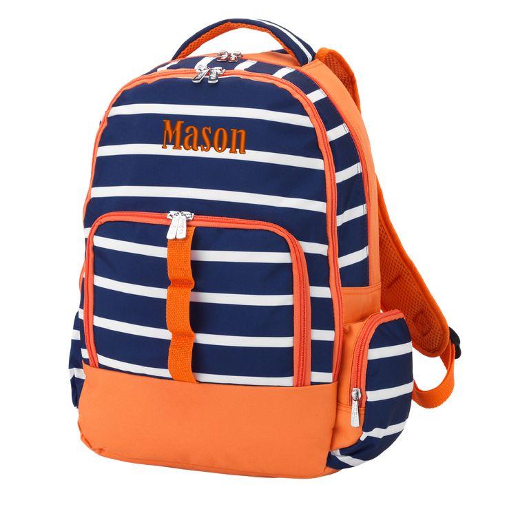 Personalized Backpack Bookbag Kids School Tote Bag