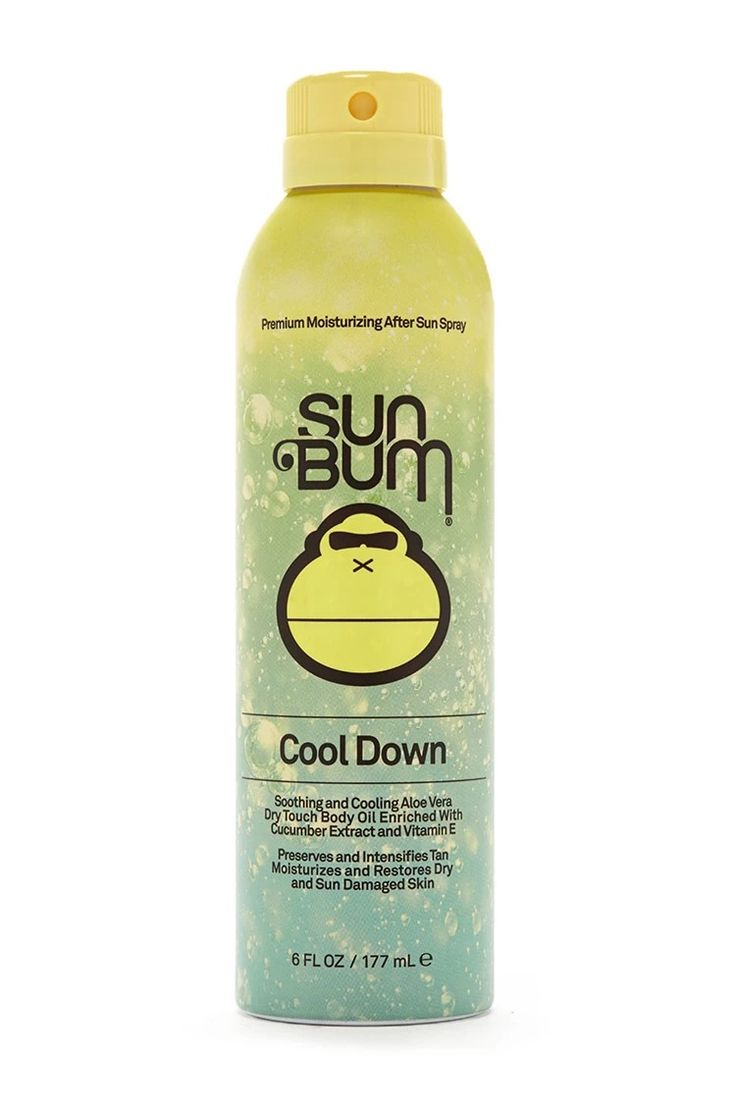 A moisturizing after sun spray by Sun Bum™ featuring body oil enriched with cucumber extract, aloe vera, and vitamin E. #summerdaze