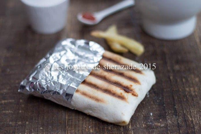 tacos lyonnais à la sauce gruyere