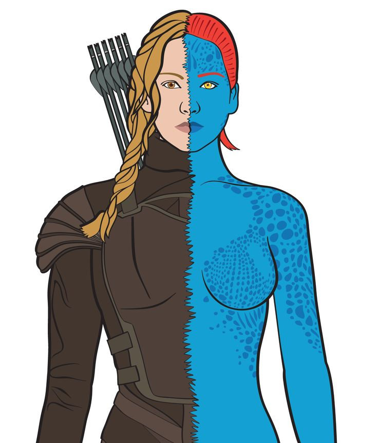 Katniss/Mystique