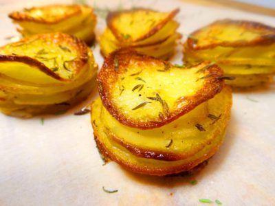 Mini pommes Anna: de allerlekkerste manier om aardappels te eten! :D