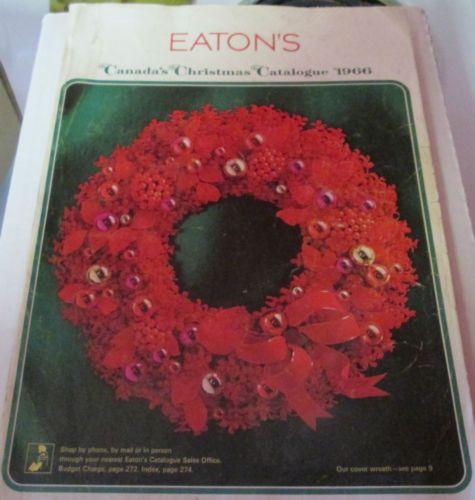 1966 Eaton's Christmas Catalogue