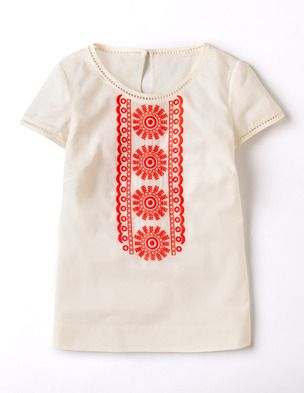 I've spotted this @BodenClothing Corinne Embroidered Top Milk Bottle 62.00