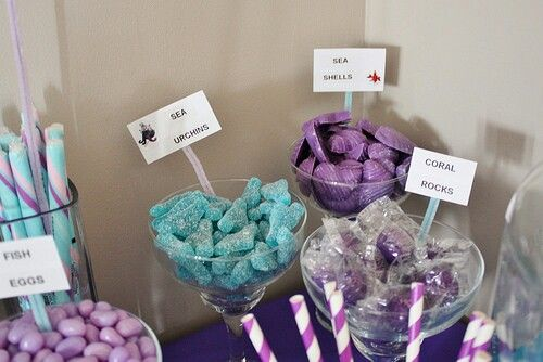 Purple/Turquoise Candy Bar