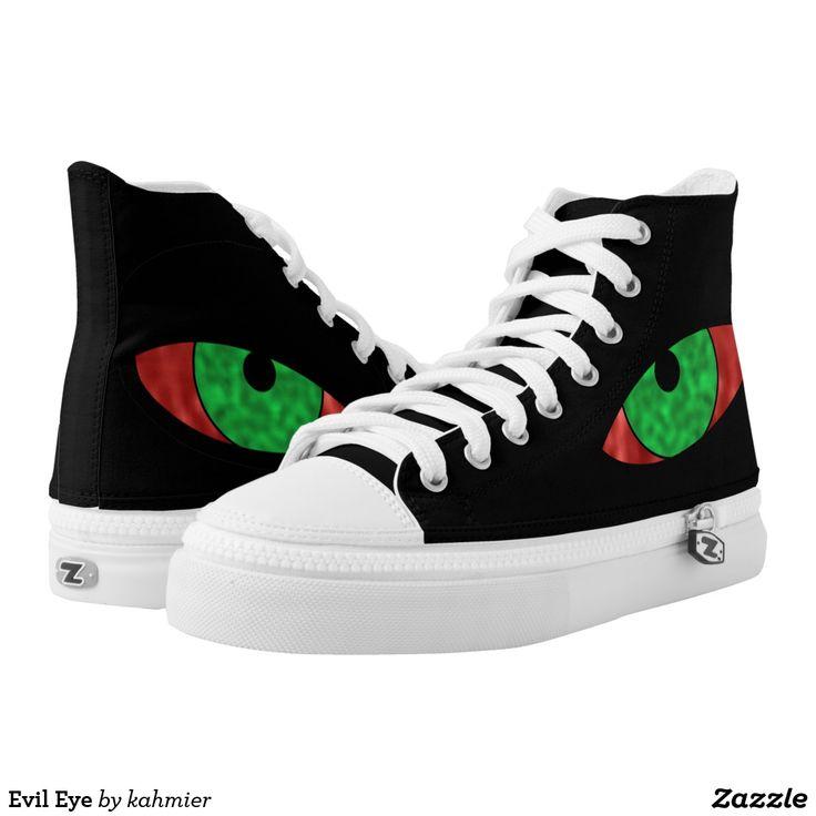 Evil Eye High-Top Sneakers