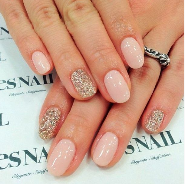 Round Shaped Gel Nails Nail Shapes Round
