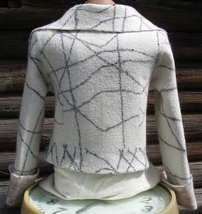 wet felted clothes. method