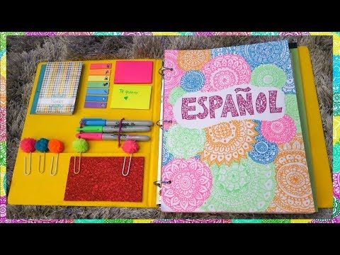 6 ideas para decorar cuadernos(libretas) facil - YouTube