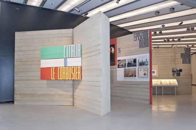 Umberto-Riva_mostra-le-corbusier_Maxxi