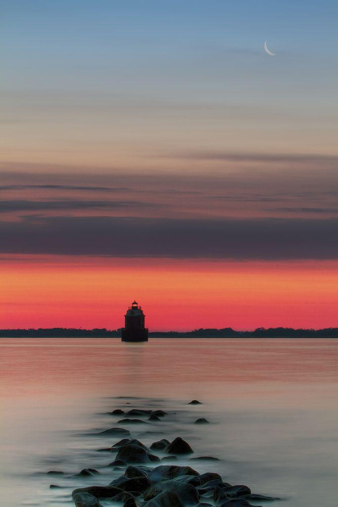 Dawn, Chesapeake Bay, Maryland.
