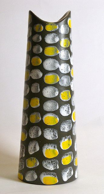 Mari Simmulson; Glazed Ceramic Vase for Upsala Ekeby, 1950s.