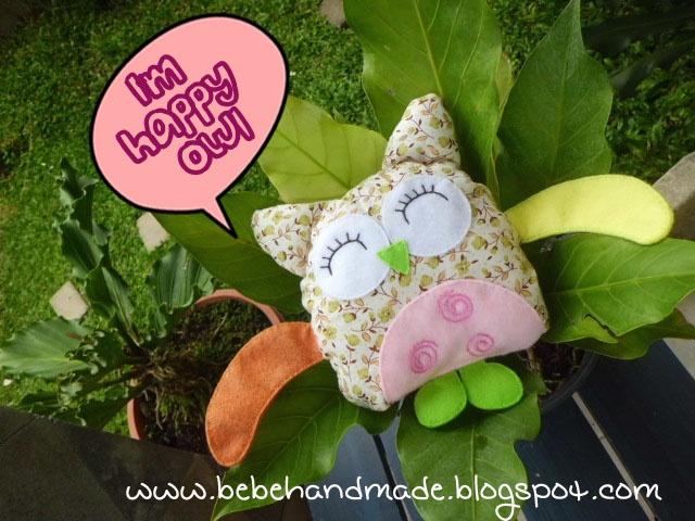 Cute owl plushie