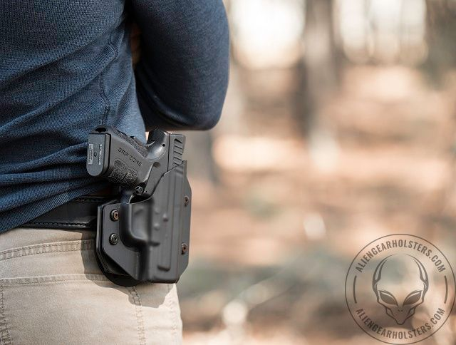 Keep your options open with the Alien Gear Holsters' Cloak Mod.