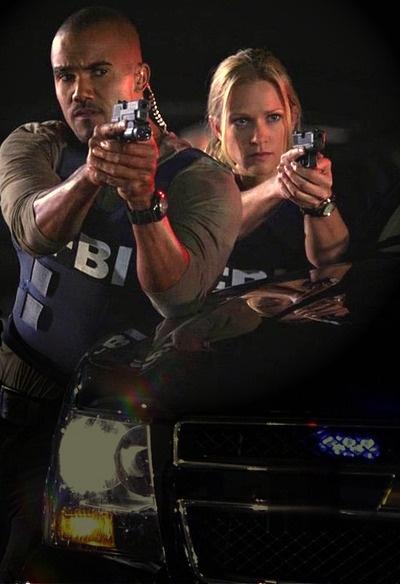 Criminal Minds - Jennifer Jareau and Derek Morgan