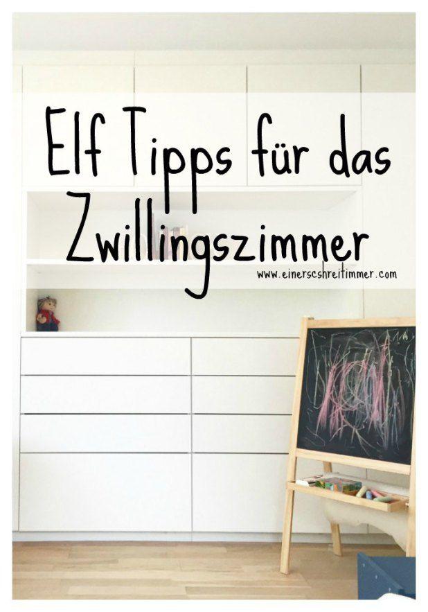 Elf Tipps für das Zwillingszimmer