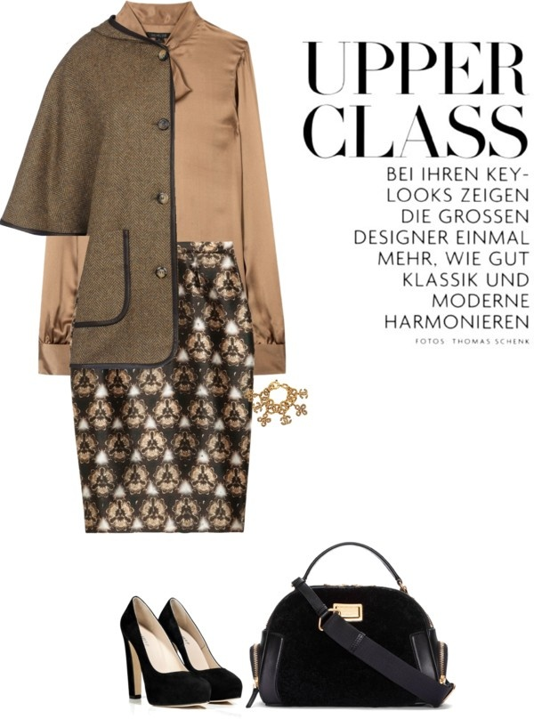 """""""Skirt by PRABEL GURUNG"""" by fashionmonkey1 ❤ liked on Polyvore"""