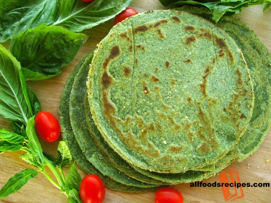 Spinach Tortilla – It's a another version of tortilla, prepared with spinach which is very healthy and will never make you bulky.    RECIPE : http://www.allfoodsrecipes.com/recipe/spinach-tortilla/