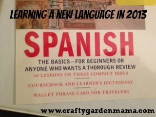 Learning a New Language - Self Improvement Goals in 2013