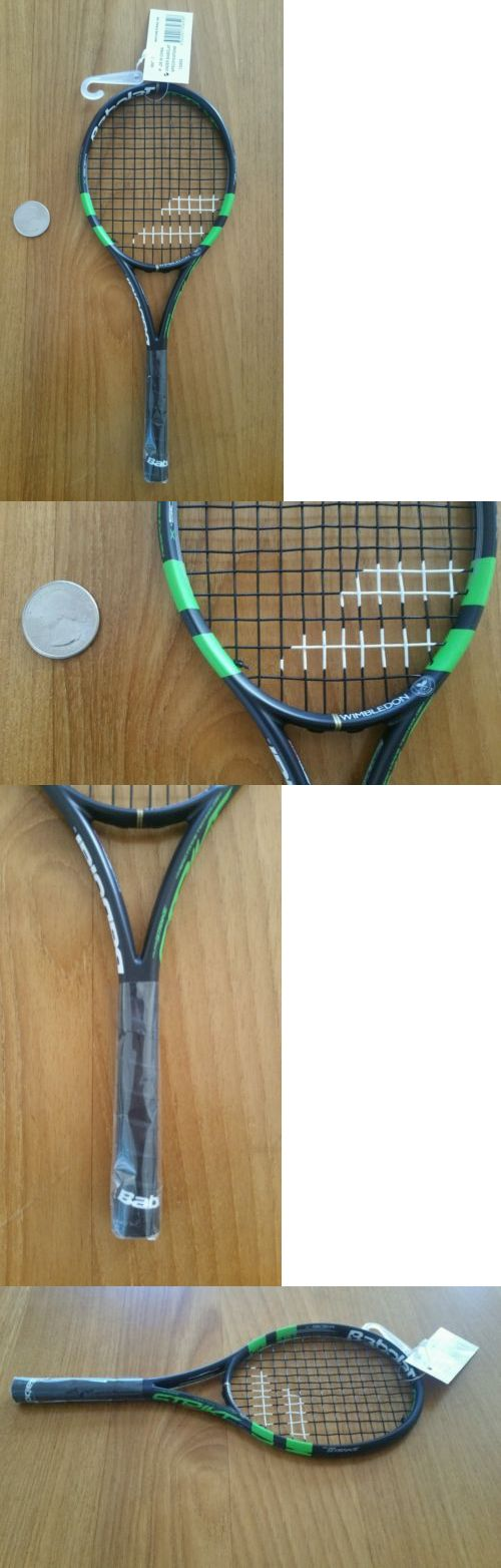 Other Tennis 2917: Babolat Pure Strike Wimbeldon Mini Tennis Racket Racquet New -> BUY IT NOW ONLY: $35 on eBay!