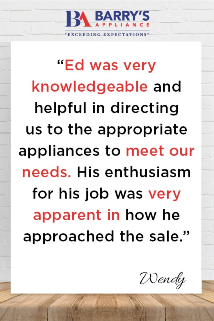 Pin by Barry's Appliance on Customer Reviews Electronics