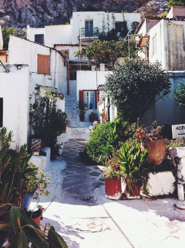 anafiotika #anafiotika #athens #greece #acropolis