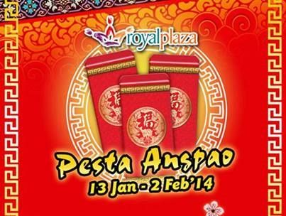 Pesta Angpao di Royal Plaza