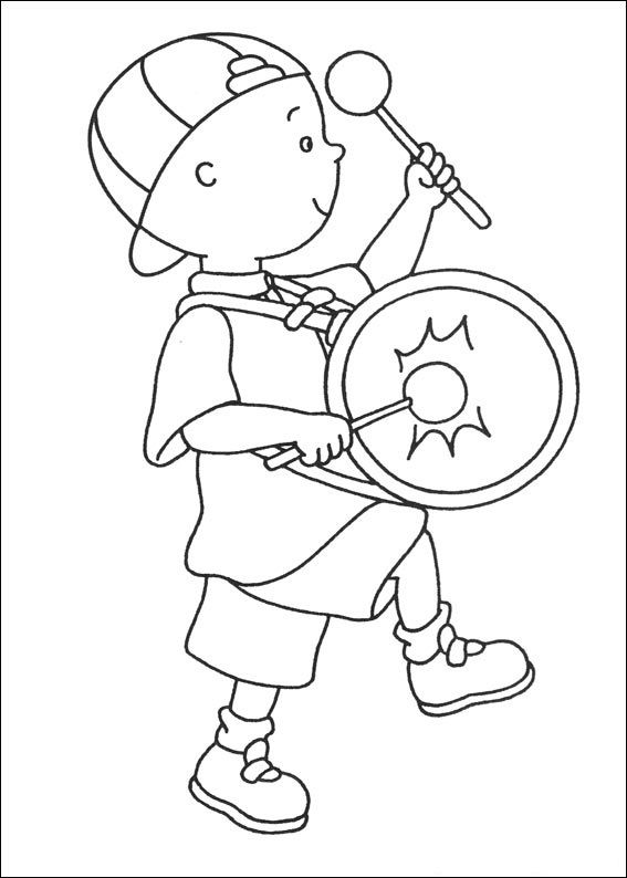 Free Printable Caillou Coloring Pages For Kids Cartoon Coloring Pages Bunny Coloring Pages Kids Coloring Books