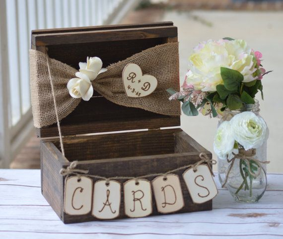 Best 25 Rustic card boxes ideas on Pinterest Rustic wedding