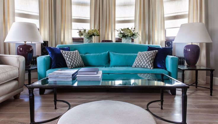 Cozy Turquoise Sofa In Modern And Minimalist Living Room http://maisonmatiere.com/cozy-turquoise-sofa-in-modern-and-minimalist-living-room/  #MaisonMatiere #Home #Design #Decor