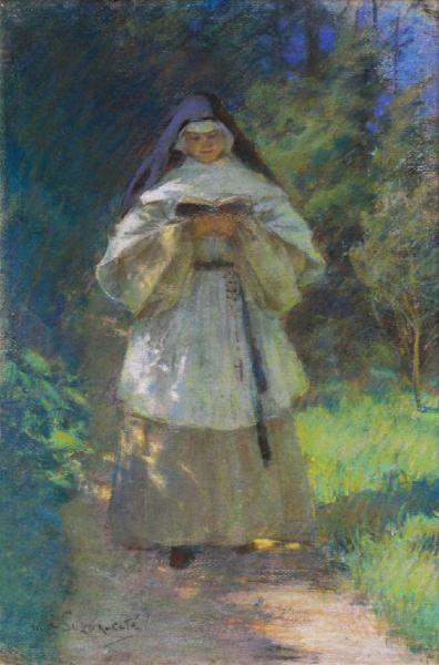 Marc-Aurele de Foy Suzor-Cote. What is Quebec art without a picture of a nun?