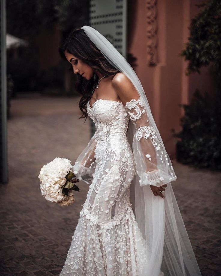 Our Beautiful Glbride Maie Ibrahim Tied The Knot In Our Galia Lahav Camilla Wedding Dress Ma Wedding Dress Long Sleeve Wedding Dresses Bridesmaid Dresses Uk