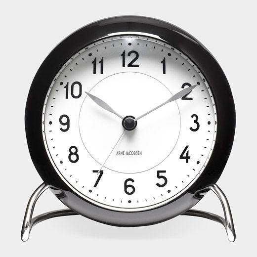 Station Alarm Clock  Arne Jacobsen, 1941. $150