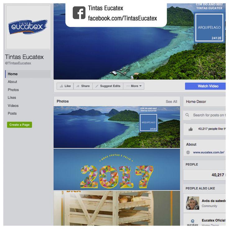 Produção de conteúdo e gerenciamento de rede social | Cliente: Tintas Eucatex | Rede social: facebook.com/TintasEucatex | Exemplos de conteúdos produzidos: 1. facebook.com/TintasEucatex/photos/a.517372325117321.1073741828.504919139695973/563889553798931 | 2. facebook.com/TintasEucatex/photos/a.517372325117321.1073741828.504919139695973/554747271379826
