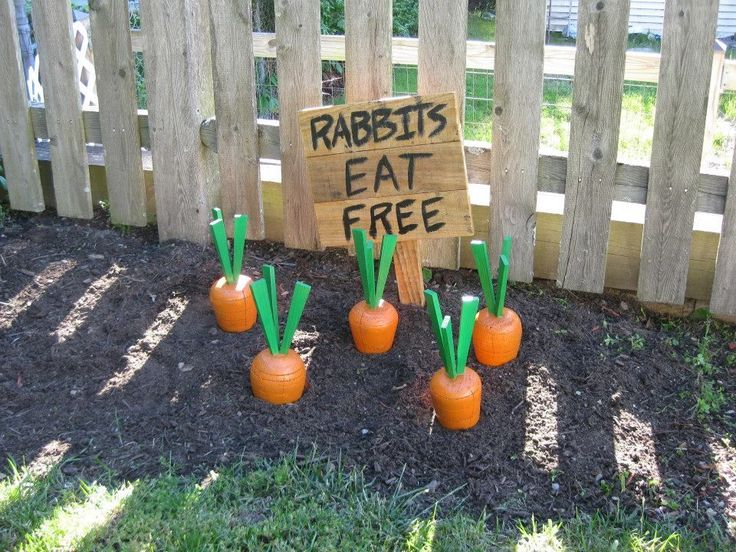 DIY Wooden Yard Carrots #woodworking #lawn #decoration