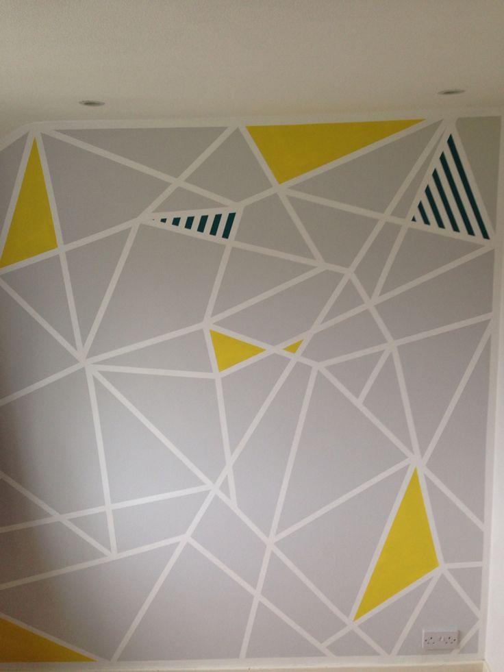 Best 25+ Frog tape wall ideas on Pinterest | Geometric ...