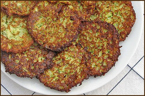 ... you can eat your fill of potato zucchini latkes with sour cream? Yum