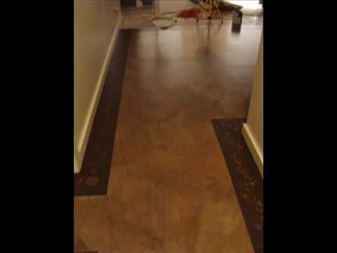 17 best images about concrete floor decoration ideas on for Can i paint a concrete floor
