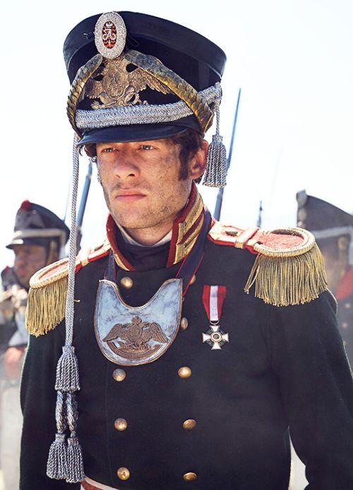 James Norton in 'War and Peace' (2016). / Actor Callum Turner