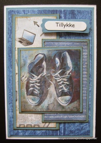 From Annette Koed Ancker in Denmark. Min scrapside