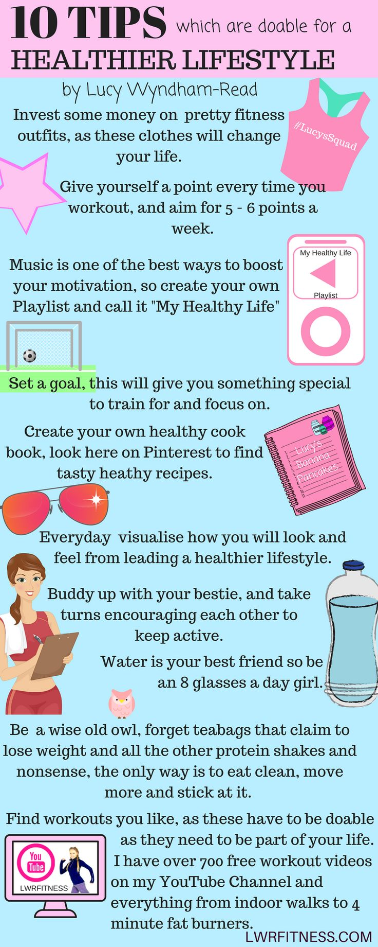10 Top Tips On How To Lead A Healthier Lifestyle The Key To This Is